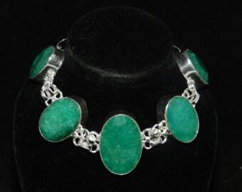 FT949 Emerald Bracelet