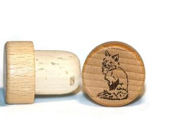 Fox Wine Stopper Wedding Accessories Personalized Wine Stopper Wedding Gift Ideas Fox