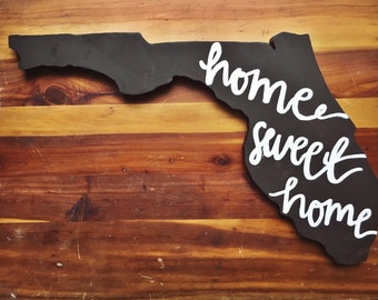 Stained Florida Cutout | Home Sweet Home