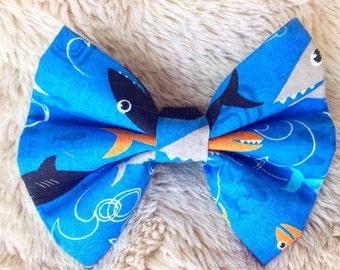 Shark Collar Bow