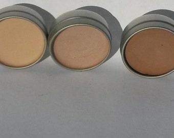 Concealer Undereye Mineral makeup Dark circles Sea buckthorn oil