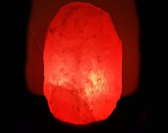 Ionic Salt Crystal Lamp With Dimmer Switch