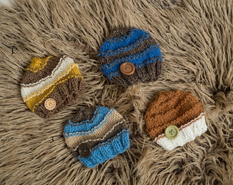 RTS Newborn Knitted Hats