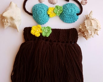 Crochet hula Etsy