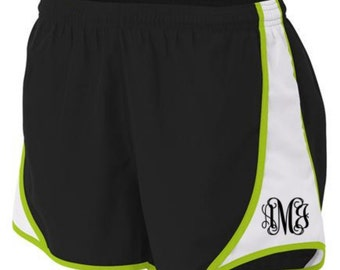 """Monogrammed A4 Ladies' 3"""" Speed Shorts Sizes Sm, Med, Large, X-Large, XX-Large FREE SHIPPING!!"""