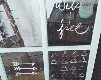 Wild & Free Window Decor