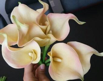 Real Touch Calla Lily (half a dozen) Artificial Flowers/Bouquet