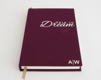 Dream Journal - Personalised Notebook - Inspirational Gift for Bestfriend / Gift for Best Friend