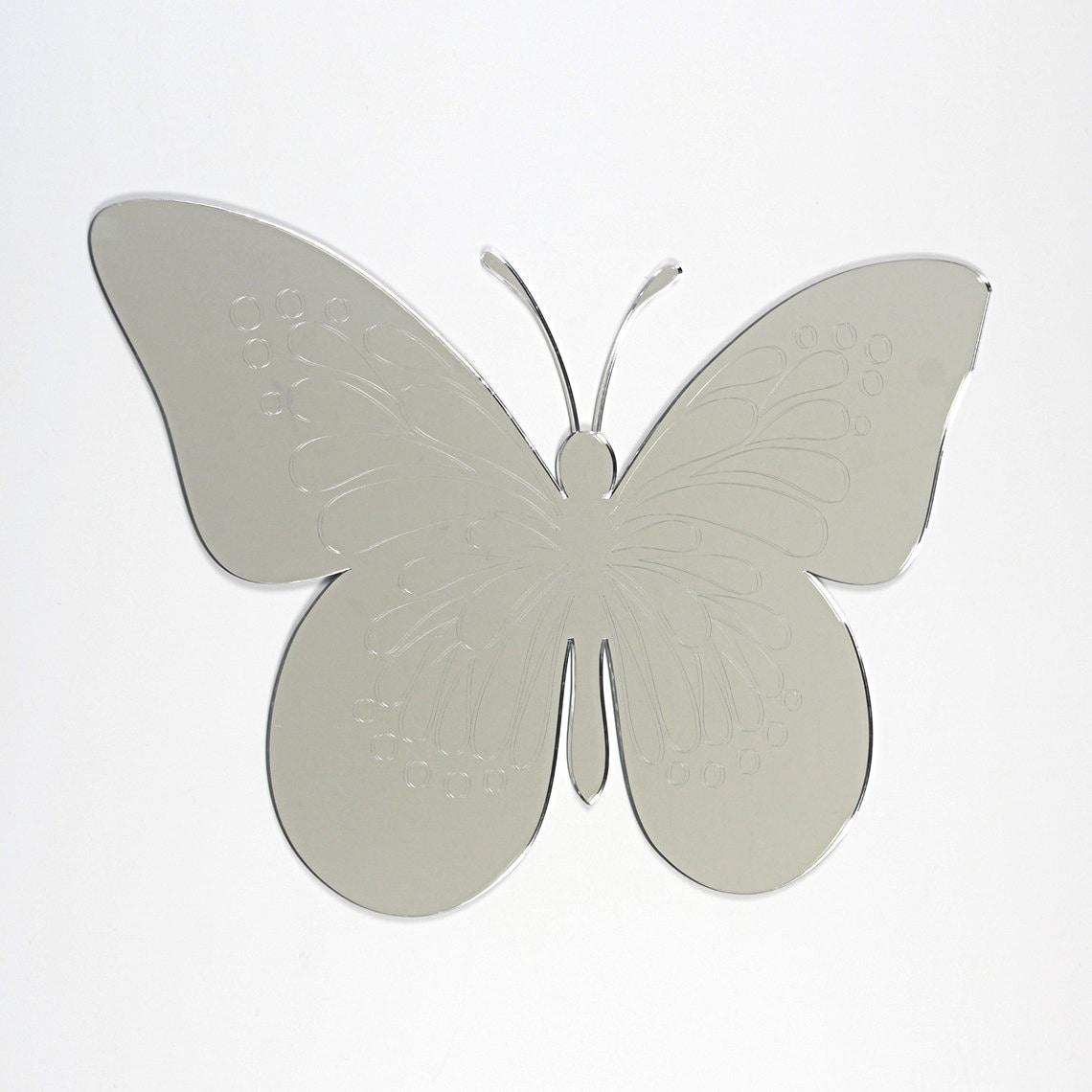Premium Acrylic Mirror Butterfly Shape Mirror Premium