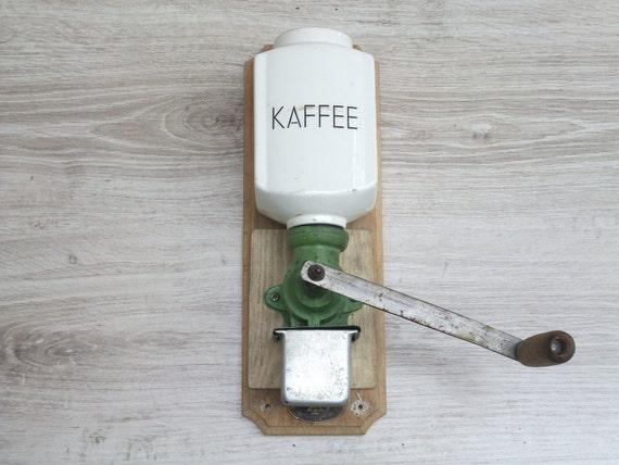Coffee Grinder Of 1920 ~ S wall coffee grinder german vintage geschmiedetes