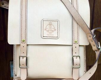Handmade Leather Field Bag - Medium