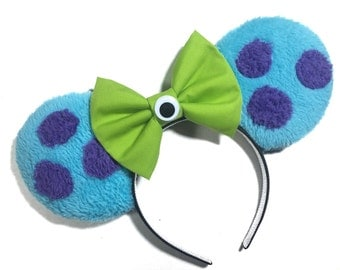 Monster's Inc inpired Mouse Ears