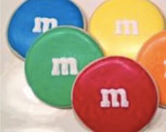M & M Cookie Cutter
