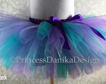 Ariel Tutu, Little Mermaid Tutu, Disney Tutu, Peacock Tutu, Purple and Teal Tutu, Bubble Guppies Tutu, Infant Tutu, Adult Tutu, Running Tutu