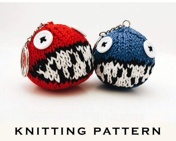 Knitted Yoshis Woolly World Yarn Ball Chain Chomp