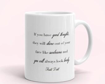 Roald Dahl Coffee Mugs - Personalized Coffee Mug - FREE SHIPPING