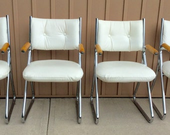 MCM Cantilever chairs