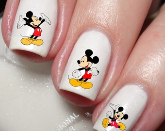 Mickey Mouse Disney Nail Art Sticker Water Transfer Decal 74