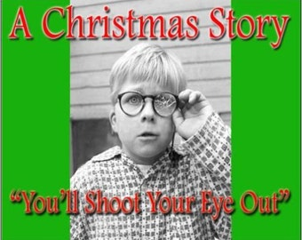 """2"""" x 3"""" Magnet You'll Shoot Your Eye Out Kid Christmas Movie Magnet"""