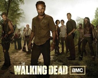 Walking Dead Zombies Magnet 2x3