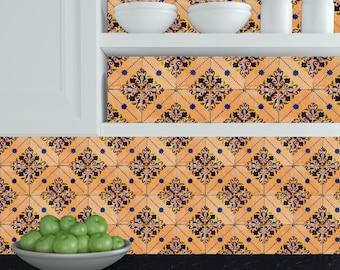 Adesivi piastrelle cucina etsy for Rivestimenti cucina adesivi