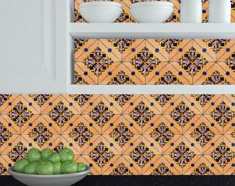 Adesivi piastrelle cucina etsy - Rivestimenti cucina adesivi ...