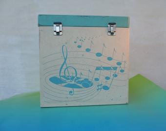 Vintage Record Album Case