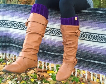 Boot Cuffs-Women's Boot Cuffs, Leg Warmers, Multiple Colors Available