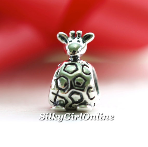 pandora sterling silver giraffe bead 790274 by silkygirlonline