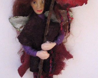 Temperate Rain Forest Faerie (Fairy) OOAK Fantasy Art Doll