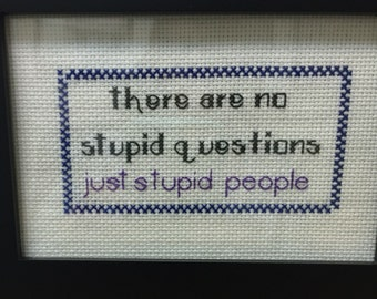 Cross Stitched Sayings
