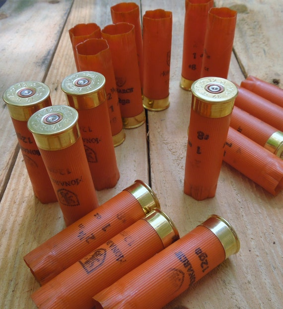 "Shotgun shells (24 size lot) ""CLEMSON ORANGE""/Monarch 12 ..."