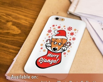 Django cover Smartphones (Iphone, Android, Windows) white