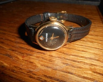 Vintage Womens Waltham Winding Watch Works Good Swiss Made
