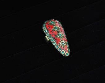 Handmade Tibetan Statement Ring