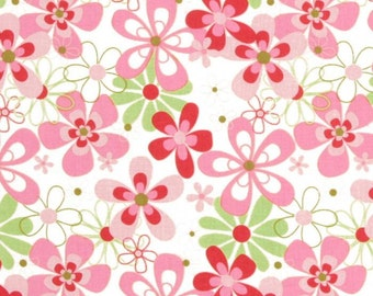 Michael Miller Nearby Floral in Candy - 1 yard