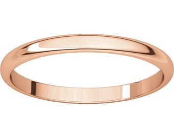 Classic Wedding Band, Rose Gold Band, White Gold Band, Yellow Gold Band, Classic, Traditional, Vintage, Retro, Simple