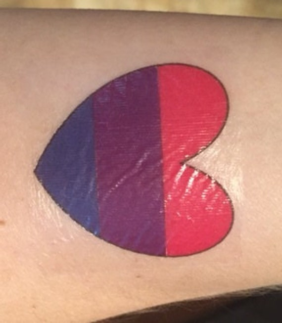 bisexual tattoo designs