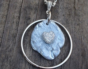 Upcycled Metal Necklace
