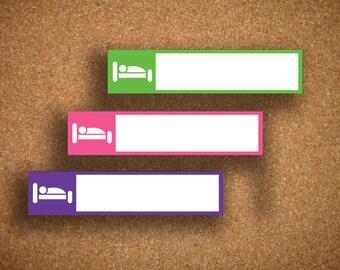 35 Sleep Box Planner Stickers UNI-LS1