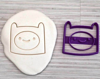 Adventure Time (Finn) cookie cutter