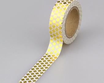Metallic Gold Washi Tape (2C-45)
