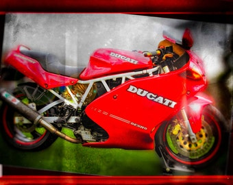Ducati DESMO, Metal Prints, Motorcycle Prints, Motorcycle Art, Wall Art, Photography, Prints, Gifts for Him, Home Décor, Home and Living