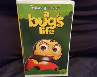 Disney Pixar A Bugs Life Vhs (Lady Bug Cover)
