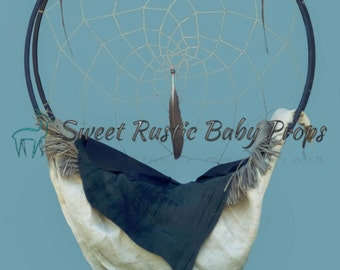 Native American Dream Catcher; Digital Backdrop, Child Photography Prop