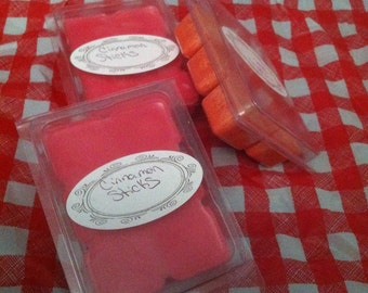 2pk highly scented soy wax melts