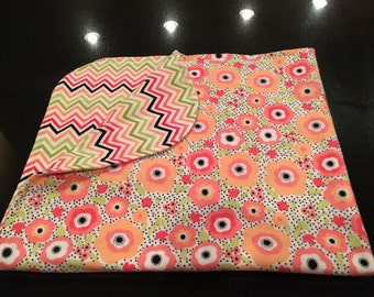 Coral Cuteness Baby Blanket