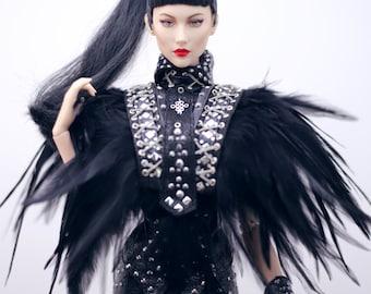 "outfit Ficon doll Icarusia , kingdom doll , jamieshow doll , numina doll , mods doll , fashion royalty 16 "" , fashion doll 16"""