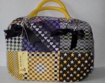 Missoni fabric satchel