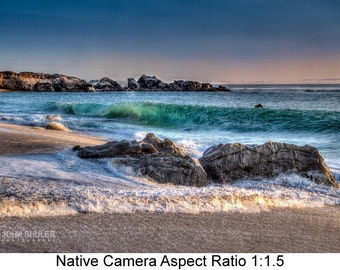 Garrapata Beach #1: Seascape  art photography prints for home or office wall decor.